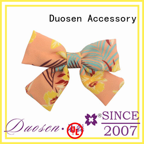 hair clips bow pattern for party Duosen Accessory