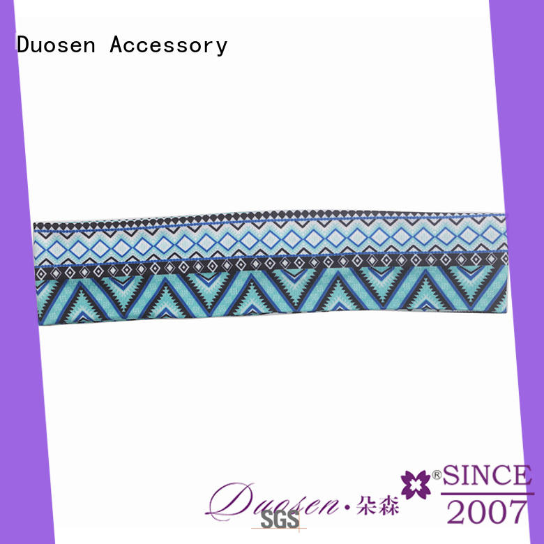Duosen Accessory flowers fabric headbands wholesale for party