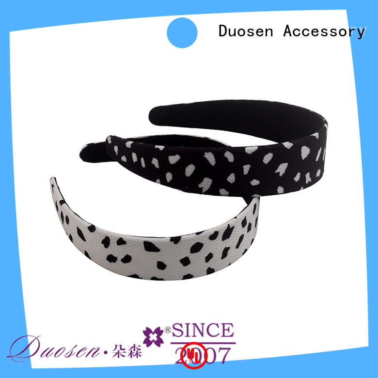 Duosen Accessory OEM fabric headbands keep you a wonderful looking for daily Life