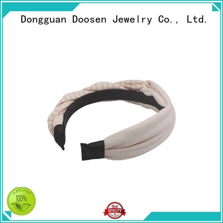 sides hair organic fabric headband unique Duosen Accessory Brand company
