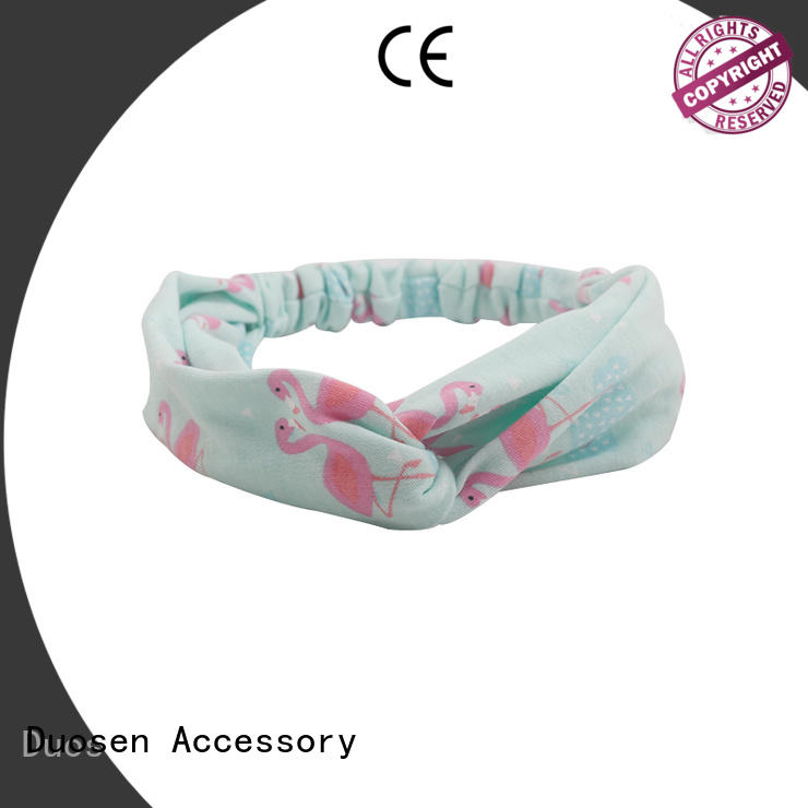 Duosen Accessory eco-friendly womens fabric headbands supplier for party