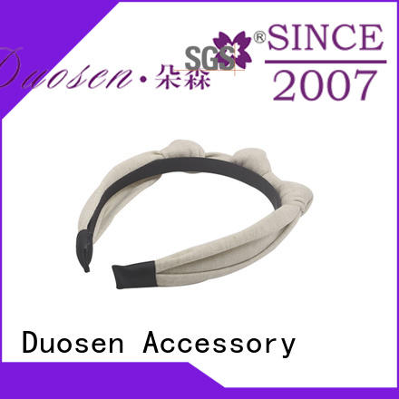 Duosen Accessory lightweight fabric hair bands with regular use for party
