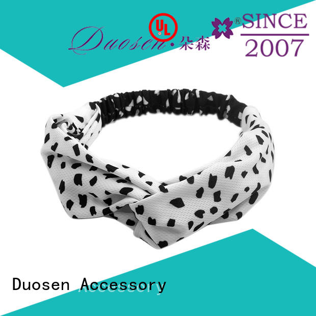 fabric alice band coffee for prom Duosen Accessory