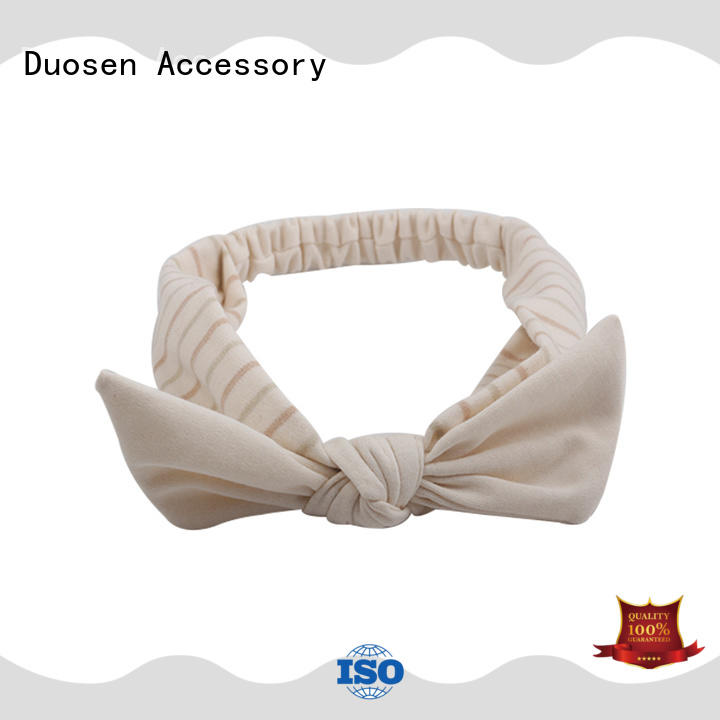 Duosen Accessory milk girls fabric headbands with regular use for daily Life