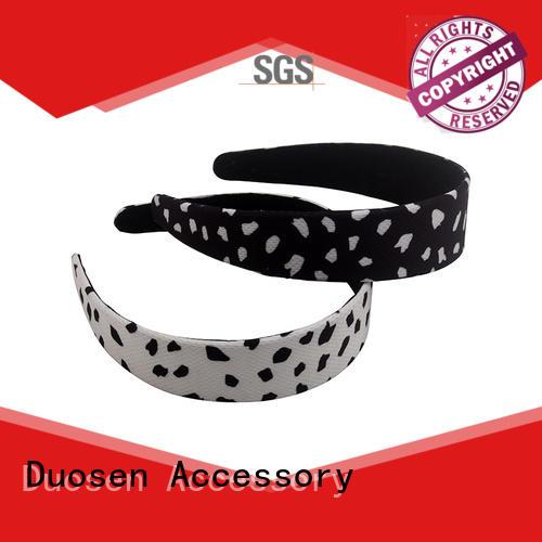 Duosen Accessory elegant fabric headbands with regular use for running