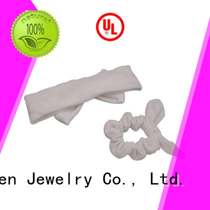 cow organic material cross headband geometric Duosen Accessory company