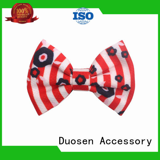 Duosen Accessory Best fabric covered hair clips manufacturers for girls