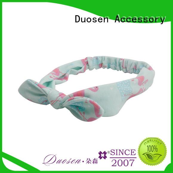 Duosen Accessory Top girls fabric headbands manufacturers for running