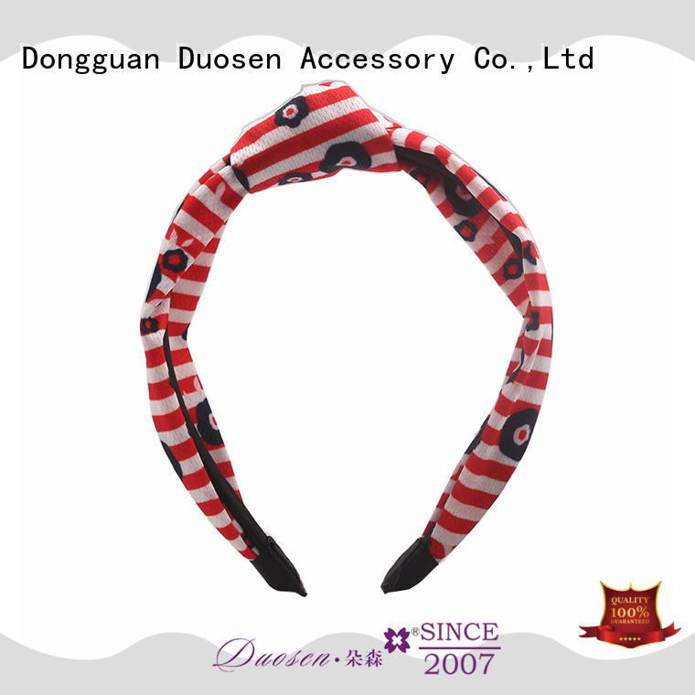 elegant fabric headbands covered manufacturer for party