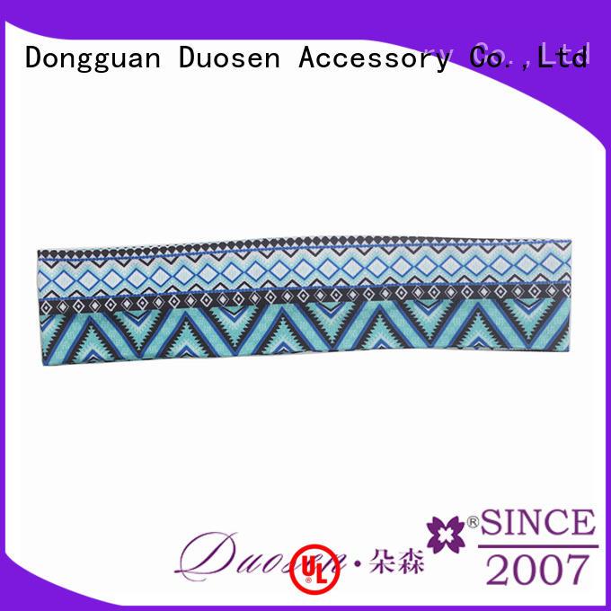 Duosen Accessory Best eco-friendly headband Supply for dancer