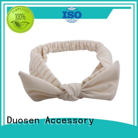 New fabric tie headbands cross Suppliers for dancer