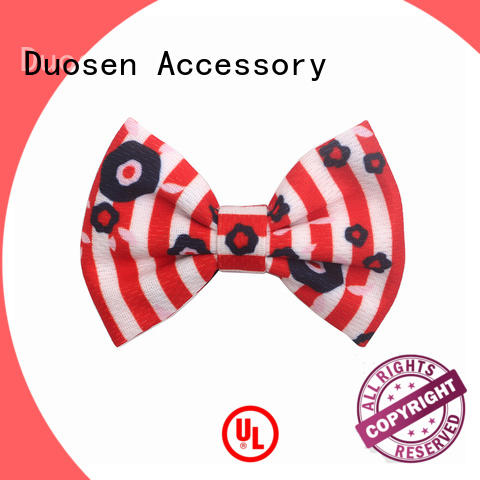 Duosen Accessory online ribbon flowers making steps customized for women