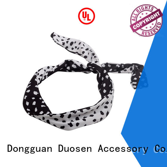Duosen Accessory print wire fabric headband Suppliers for daily Life