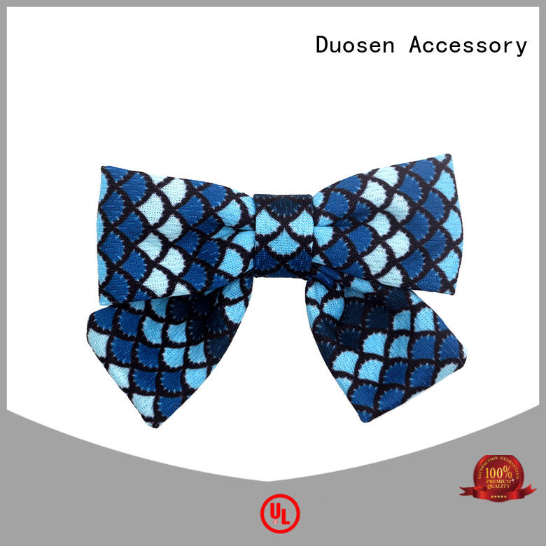 Duosen Accessory color hair bow clip bright for daily life