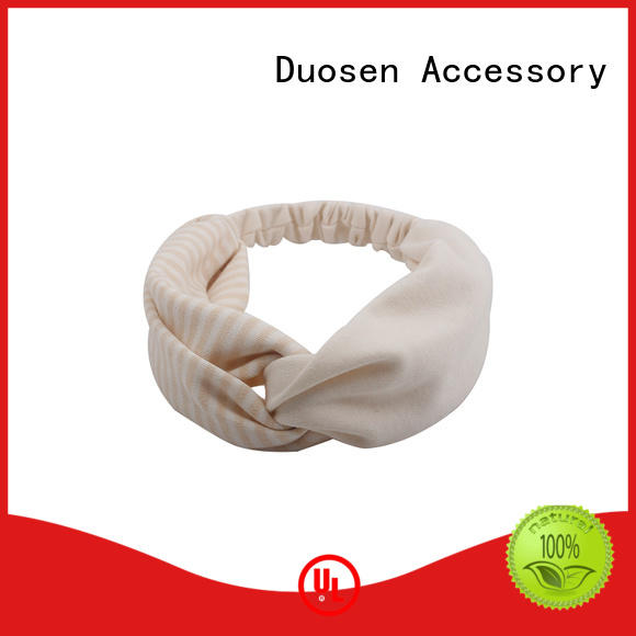 Duosen Accessory New cloth hairband Supply for dancer