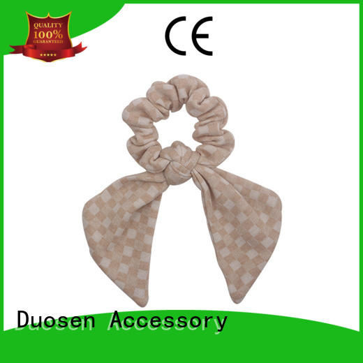 Duosen Accessory online scrunchie hair ties gentle on your hair for women