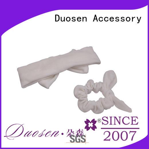 Duosen Accessory convinent organic cotton headband series for sports