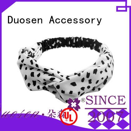 Duosen Accessory different cloth hairband manufacturers for running