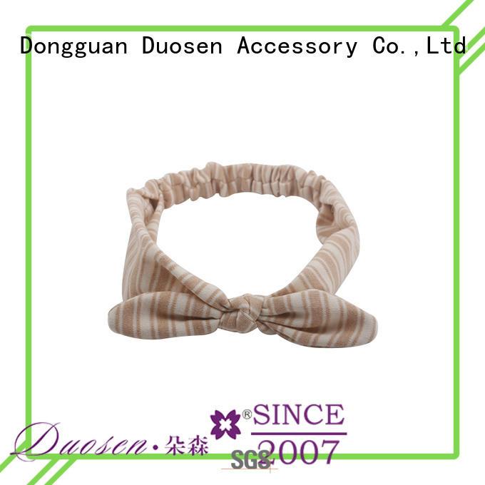 Duosen Accessory Best cheap fabric headbands Suppliers for running