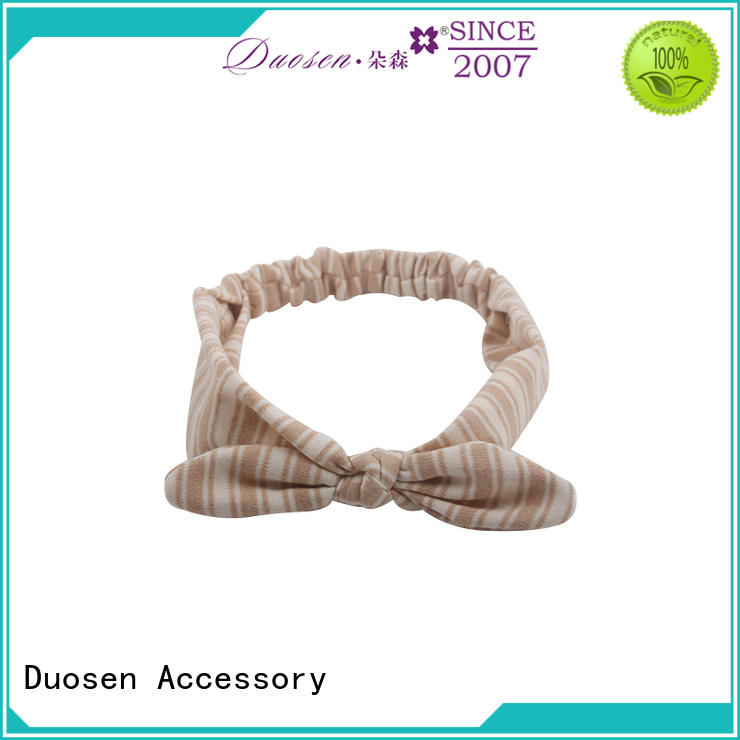 Duosen Accessory design cheap fabric headbands for business for dancer