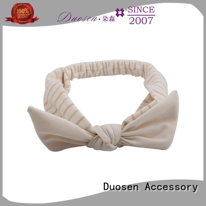 Duosen Accessory High-quality fabric headband company for party