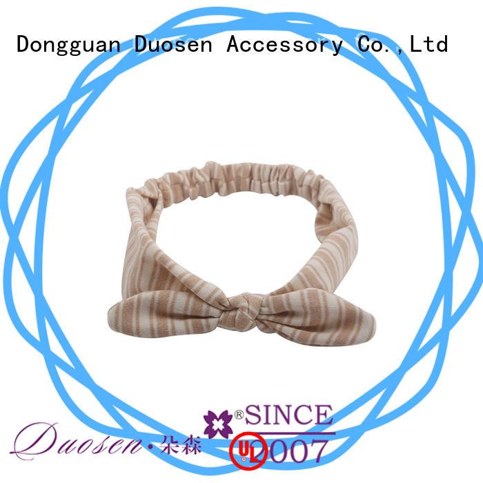 Duosen Accessory fabric fabric elastic headbands supplier for sports