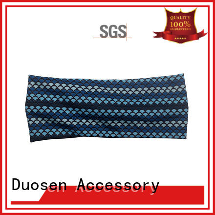 Latest organic fabric bow headband hairbands manufacturers for daily Life