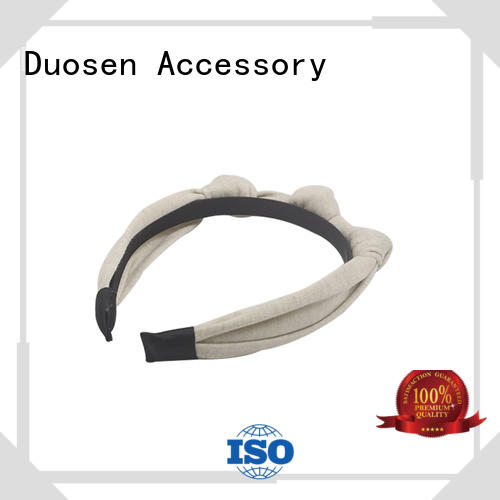 Duosen Accessory flowers cloth headbands for business for sports