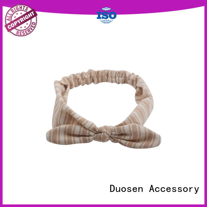 Duosen Accessory Best fabric knot headband for business for party