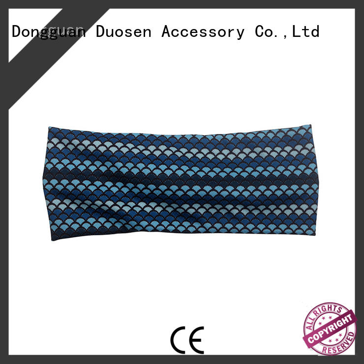 Duosen Accessory ODM cloth headbands with regular use for party