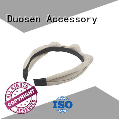 Duosen Accessory pattern turban headband with regular use for running