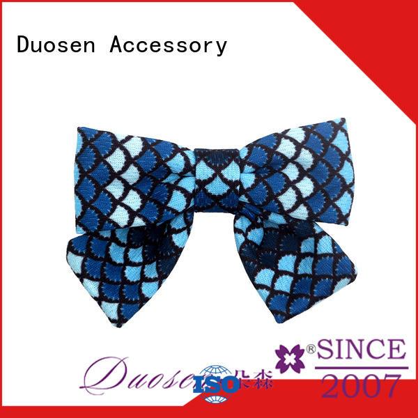 Duosen Accessory hair little girl hair bows homemade for all hair types for girls