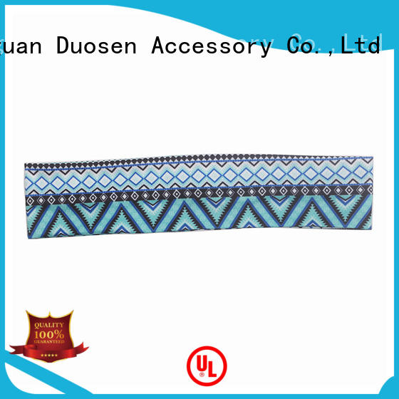 Custom cotton turban headband eco-friendly factory for running