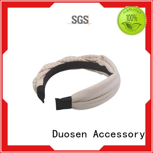 Duosen Accessory three fabric headband for business for running