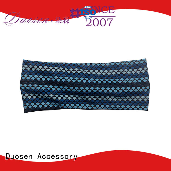 Duosen Accessory cow cloth hairband for business for dancer