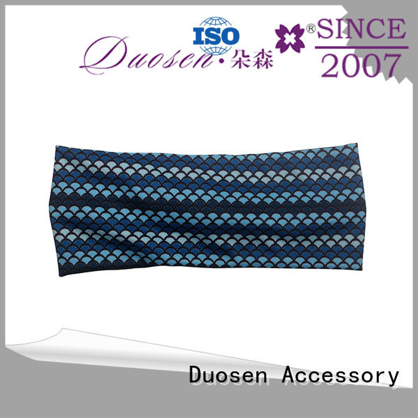 Duosen Accessory changeable organic fabric hairband company for party