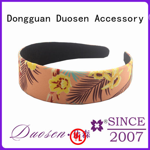 Duosen Accessory elegant twisted fabric headband wholesale for prom