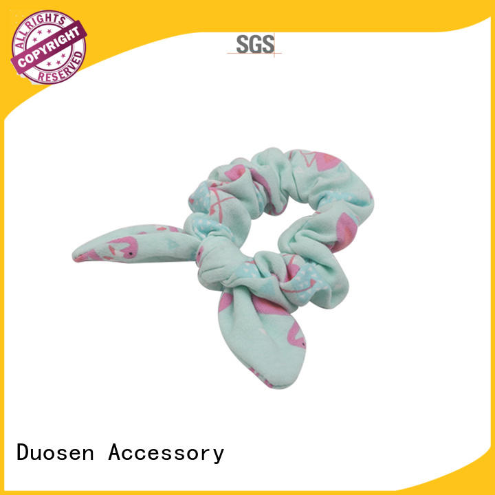 High-quality scrunchie hair ties recycled manufacturers for daily life
