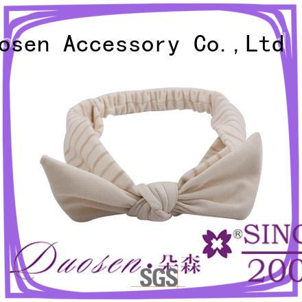 Duosen Accessory organic womens fabric headbands customized for running
