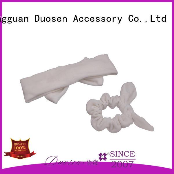 Duosen Accessory cow fabric headband company for sports