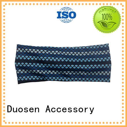 Hot organic material cross headband band Duosen Accessory Brand