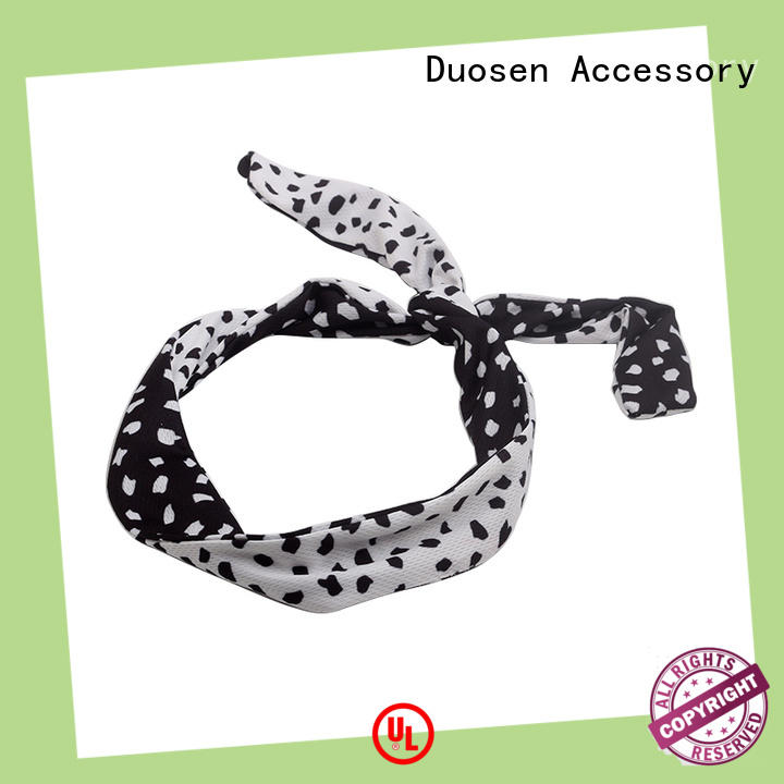 Duosen Accessory hairbands cotton turban headband Suppliers for sports