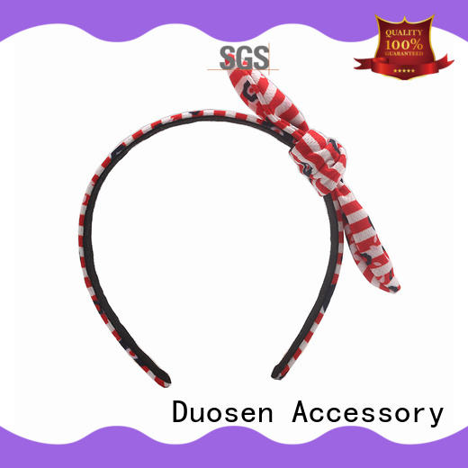 Duosen Accessory coffee fabric knot headband with regular use for daily Life