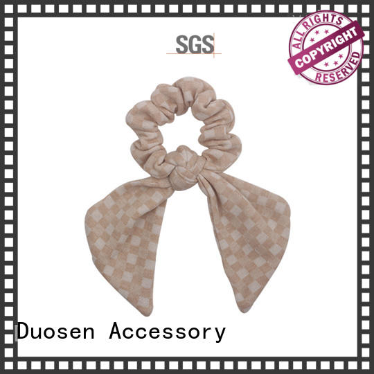 Custom fabric hair tie style Suppliers for daily life