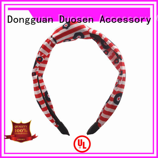 Best fabric bow headband sides Suppliers for party