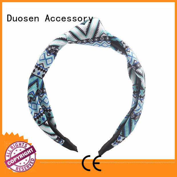 Best womens fabric headbands wave for business for sports
