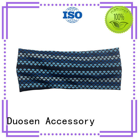 Duosen Accessory flowers eco-friendly headband customized for sports