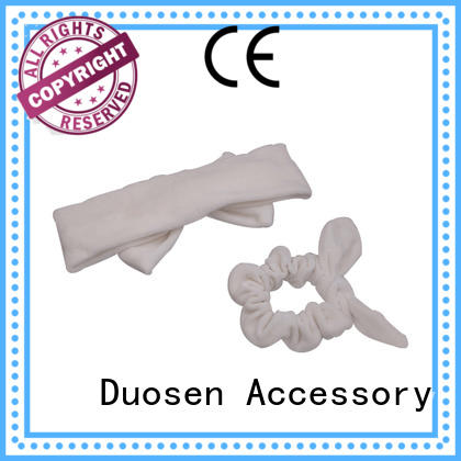 Duosen Accessory sides cotton turban headband manufacturers for prom