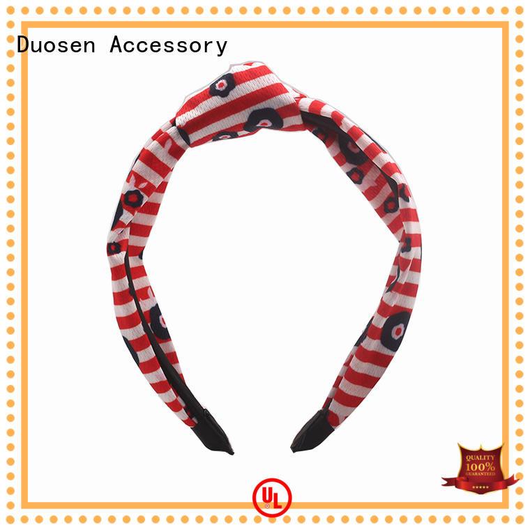 organic fabric elastic headbands multifunctional for running Duosen Accessory