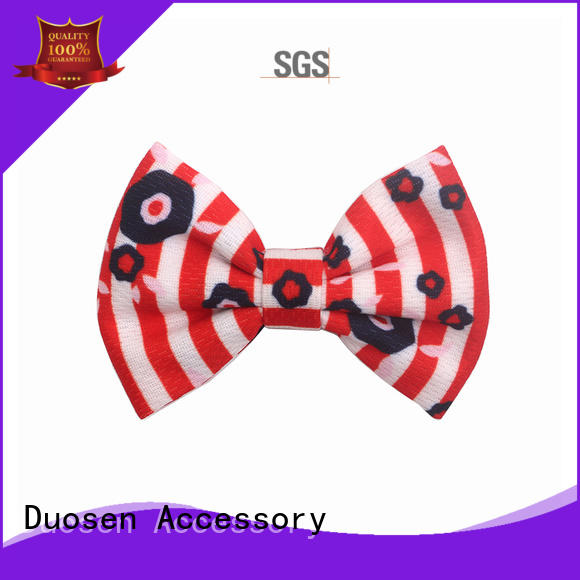 Duosen Accessory lace pretty hair clips for business for daily life